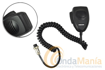 MICROFONO PRESIDENT DNC-518 - Micrófono President con conector de 6 pins.