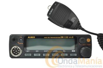 ALINCO DR-135EMkIII - Transceptor móvil de VHF con nuevas e innovadoras características como sus 50 W de potencia, 100 canales de memoria, tonos CTCSS y DCS incluidos,...