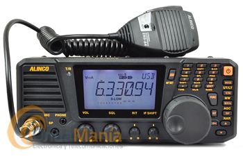 ALINCO DX-SR9E TRANSCEPTOR HF 1.9 - 29 MHZ AM/FM/SSB/CW+PORTES GRATIS - El Alinco DX-SR9E esun equipo de HF 1.9 a 29 Mhztodo modo AM/FM/SSB/CW con 100W de potencia, 600 memorias y amplia cobertura en recepción 30 kHz a 34.9999 Mhz.