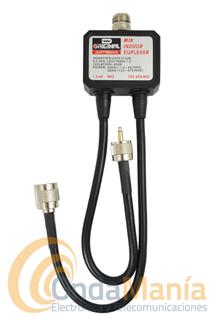 DUPLEXOR D ORIGINAL DX-CF-530B - Duplexor D-Original con cables y con unas frecuencias comprendidas entre 1.3 hasta 60 Mhz y 125 hasta 470 Mhz.