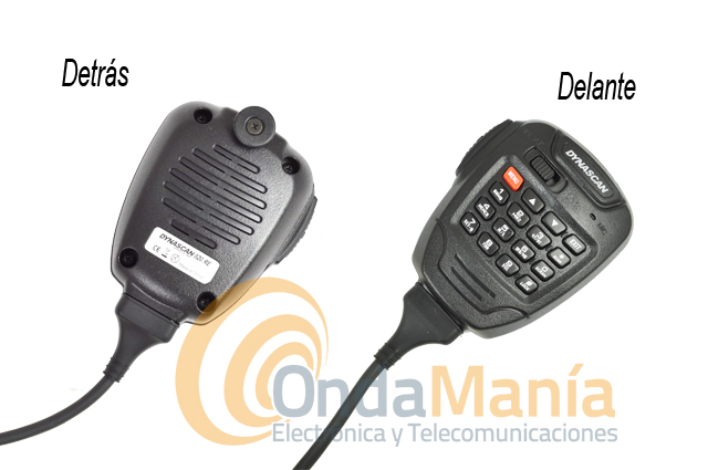 DYNASCAN 920RE EMISORA MOVIL DOBLE  - SUBSTITUIDO POR WOUXUN KG-UV920P. Transceptor doble banda dúplex total con 50 W en VHF y 40 W en UHF, incluye 999 memorias, radio comercial de FM, micrófono multifunción con altavoz incorporado, CTCSS y DCS incluidos, secrafonia,...