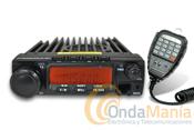 """TRANSCEPTOR MOVIL DE VHF DYNASCAN M-6D V3  - Transceptor móvil de VHF con un atractivo diseño y avanzadas funciones; tiene 60 W de potencia, y 200 memorias, srambler, CTCSS y DSC, incluye la función """"Compander""""."""