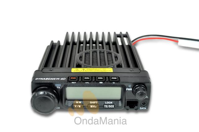TRANSCEPTOR MOVIL DE UHF DYNASCAN M-6D-U - Oferta para las tres ultimas unidades!!!. Transceptor comercial móvil de UHF con un atractivo diseño y avanzadas funciones; tiene 45 W de potencia, y 200 memorias, srambler, CTCSS y DSC, incluye la función