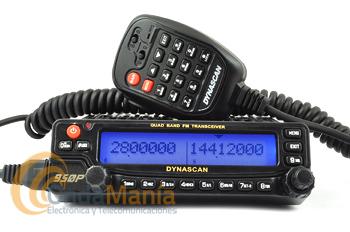 DYNASCAN 950P TRANSCEPTOR MOVIL CON 4 BANDAS+PORTE GRATIS