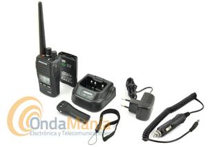DYNASCAN R-58 V12/24V PMR  PROFESIONAL DE USO LIBRE CON RECEPTOR DE RADIO FM + PINGANILLO DE REGALO
