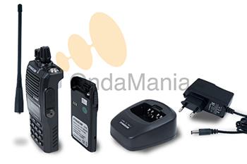 DYNASCAN V-400 TRANSCEPTOR PORTATIL DE VHF CON RADIO DE FM, 5 TONOS