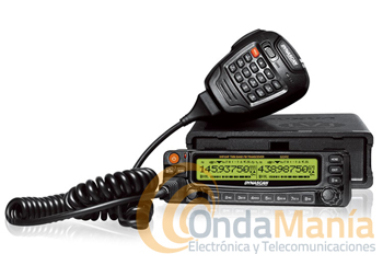 DYNASCAN 920RE EMISORA MOVIL DOBLE  - SUBSTITUIDO POR WOUXUN KG-UV920P. Transceptor doble banda dúplex total con 50 W en VHF y 40 W en UHF, incluye 999 memorias, radio comercial de FM, micrófono multifunción con altavoz incorporado, CTCSS y DCS incluidos, secrafonia,...