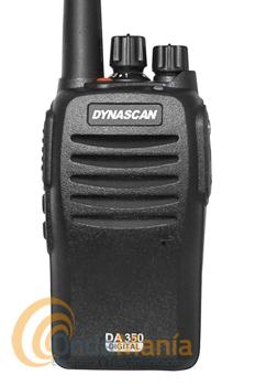 DYNASCAN DA-350 dPMR-446 DE USO LIBRE ANALOGICO/DIGITAL+PINGANILLO DE REGALO+PORTES GRATIS - El Dynascan DA-350 es un transceptores portátiles de UHF de uso libre con funciones analógicas y digitales dPMR-446. Incluye la última tecnología digital dPMR para una mejor protección de interferencias, es compatible con el Kenwood TK-3401D y el resto de equipos PMR-446 analógicos de cualquier otra marca.