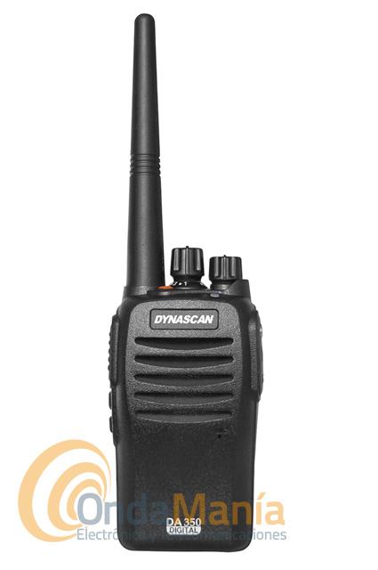 PACK DUO DYNASCAN DA-350 dPMR-446 DE USO LIBRE ANALOGICO/DIGITAL+PINGANILLO DE REGALO+PORTES GRATIS - PROMOCION ESPECIAL, ULTIMOS DIAS!!! El pack Dynascan DA-350 son unos transceptores portátilesde UHF de uso libre con funciones analógicas y digitales dPMR-446. Incluye la última tecnología digital dPMR para una mejor protección de interferencias, es compatible con el Kenwood TK-3401D y el resto de equipos PMR-446 analógicos de cualquier otra marca.