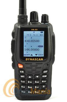 WOUXUN KG-UV8E PACK WALKY DE DOBLE BANDA UHF/VHF Y RADIO FM COMERCIAL+PORTE GRATIS