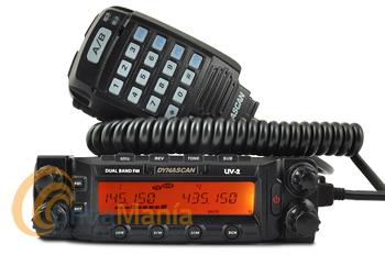 DYNASCAN UV-2 EMISORA DOBLE BANDA UHF/VHF CON BANDA AEREA