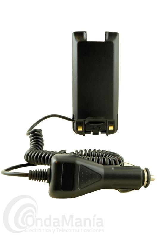 MD-ELIM2017 ELIMINADOR DE BATERIA PARA EL TYT MD-2017 Y MD-2017 GPS - Eliminador de batería para el TYT MD-2017 y MD-2017GPS incluye toma de encendedor de 12V