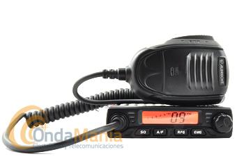 ALBRECHT AE-6110 MINI CB EMISORA DE BANDA CIUDADANA 27 MHZ - Mini emisora de banda ciudadana 27 mhz con 40 canales AM/FM, ganancia de RF, squelch, escaner y un micrófono con teclas UP/DOWN para subir y bajar canales, multiestándar, pantalla LCD, medidor S,...