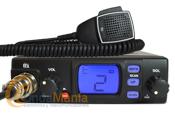 TTI TCB-560 EMISORA DE BANDA CIUDADANA 27 MHZ - Pequeña emisora de banda ciudadana 27 Mhz, con grandes prestaciones como squech automático, AM y FM, escaner, 3 colores de iluminación del LCD,...