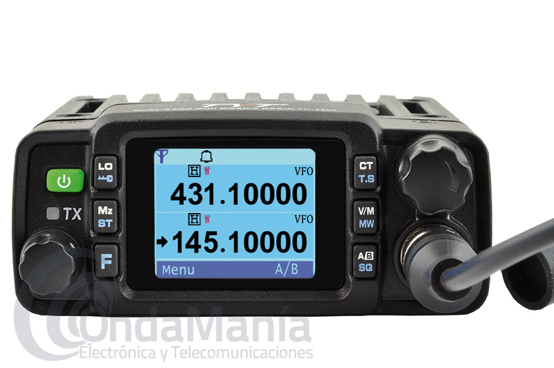 TYT TH-8600 IP54 MINI EQUIPO MOVIL DOBLE BANDA 25W EN VHF 20 W EN UHF