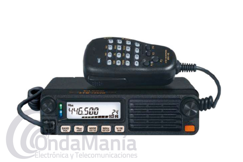 YAESU FTM-7250DE EMISORA DOBLE BANDA UHF/VHF ANALOGICA Y DIGITAL-SISTEMA FUSION II - Emisora doble banda VHF / UHF analógica y digital Fusion C4FM con 225 canales de memoria, tiene un rango de frecuencia de 108 a 579.995 Mhz (incluye banda aérea), CTCSS, DCS, posibilidad de introducir frecuencias desde el micrófono, 50 W de potencia en VHF y UHF,...