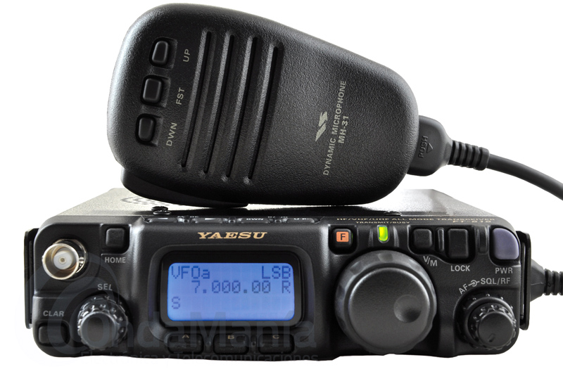 YAESU FT-818 TRANSCEPTOR PORTATIL HF / VHF / UHF TODO MODO ULTRA COMPACTO - El Yaesu FT-818 incorpora todas las características básicas de su antecesor el FT-817ND con algunas mejoras como 6W de potencia, batería con 1900 mAh de intensidad, mejor estabilidad de frecuencia, posibilidad de trabajo en la banda de 5 MHz,....