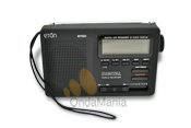 ETON E-1100 - Radio analógica con lectura digital de frecuencia con AM/FM/OC.