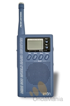 ETON MINI 300 - Radio digitalcon AM/FM y 7 bandas de onda corta la radio es digital con sintonización analógica.