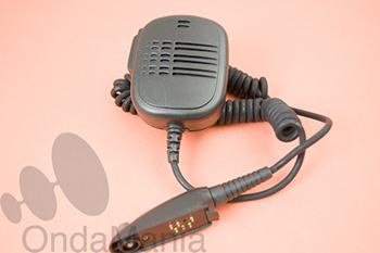 MICROFONO ALTAVOZ M-16GP320 - Micro-altavoz de mano con clip giratorio y metálico para portátiles Motorola GP-340 y GP-320.