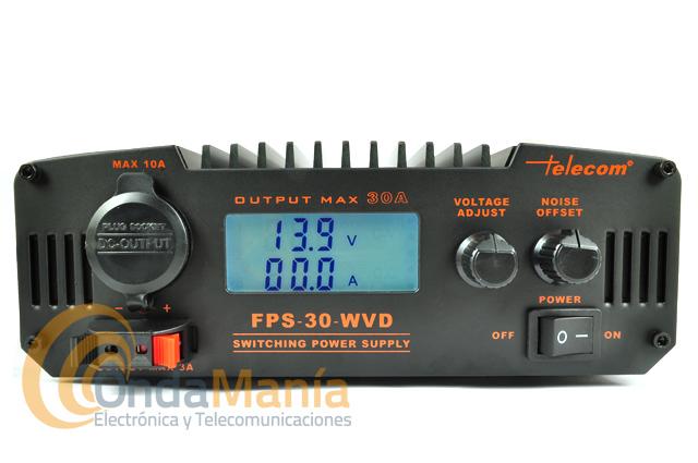 FUENTE DE ALIMENTACION TELECOM FPS-30-WVD