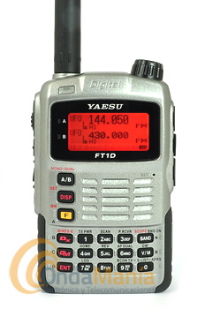 EQUIPO DE EXPOSICIÓN!!! YAESU FT1DE PLATA TRANSMISOR DOBLE BANDA DIGITAL 144/430 MHz