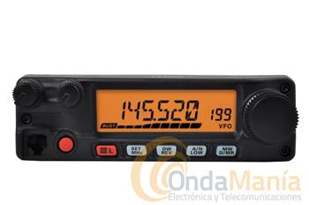 YAESU FT-2900 EMISORA DE VHF CON 75 W DE POTENCIA - Transceptor móvil de VHF muy robusto con 75W de potencia cobertura ampliada en RX, 221 canales de memoría. Y sin gastos de envío.