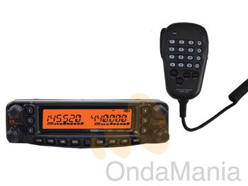 YAESU FT-8800E + EXTENSOR DE FRONTAL YSK-8900 - El Yaesu FT-8800E es un transceptor doble banda full duplex muy resistente y de excelente calidad con 50 y 35 W en VHF y UHF respectivamente dispone de un total de 1054 canales de memoria 527 para la banda