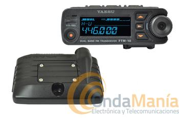 YAESU FTM-10SE - El FTM-10SE es un transceptor móvil bi-banda diseñado por YAESU para satisfacer a radioaficionados que necesitan un equipo tremendamente robusto para usos en motocicletas, todoterrenos, quads etc.