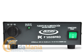 JETFON PC-F1028PRO FUENTE DE ALIMENTACION 28 V Y 12,5 AMP