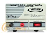 JETFON PC-F12 FUENTE DE ALIMENTACION 10/12 AMP. - Fuente de alimentación DC 13.8V.conmutada, estabilizada y cortocircuitablecon una intensidad de 10 Amp. continuos y 12 Amp. de pico.