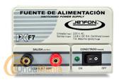 JETFON PC-F7 FUENTE DE ALIMENTACION 5/7 AMP. - Fuente de alimentación DC 13.8V.conmutada, estabilizada y cortocircuitablecon una intensidad de 5 Amp. continuos y 7 Amp. de pico.