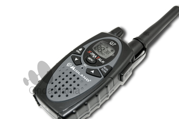 MIDLAND G7 PRO (HASTA FIN DE STOCK) - NUEVA VERSIÓN MEJORADA. Midland G-7 XT es una radio con GRANDES prestaciones. El Midland G-7 XT incluye: 1 radio, clip de enganche para cinturón y manual de usuario.