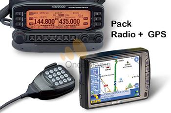 KENWOOD TM-D710 + GEOSAT 5 APRS - Transceptor móvil doble banda Kenwood TM-D710 + Navegador avanzado APRS con múltiples aplicacionespara Radio Amateur