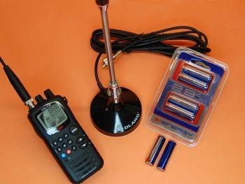 INTEK H-520 PLUS PACK ANTENA MAGNETICA Y BATERIAS DE ALTA CAPACIDAD