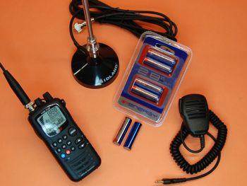 INTEK H-520 PLUS PACK MICRO-ALTAVOZ, ANTENA MAGNETICA Y BATERIAS DE ALTA CAPACIDAD