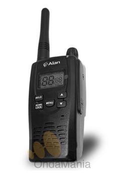 MIDLAND ALAN HP-450/LI 2A PMR-446 CON BATERIA DE LITIO + PINGANILLO DE REGALO