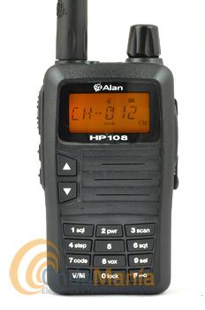 MIDLAND ALAN HP-108 VERSION CAZA (GALICIA, ASTURIAS, LEON, CANTABRIA...)+PINGANILLO - El Midland Alan HP-108 (homologado para caza en la zona Norte/Galicia) es un transceptor portátil de VHF profesional 136 - 174 Mhz, dispone de 180 memorias, llamada selectiva 5+5 tonos, CTCSS, DCS, ANI, VOX, escaner, secrafonía,...incluye batería de litio con 1600 mAh, cargador de sobremesa, 5W de potencia,...