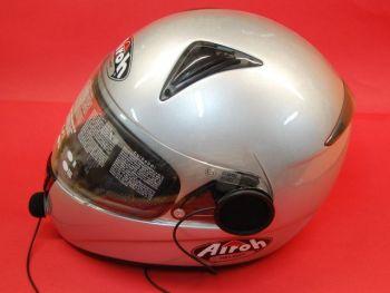 KIM-55K/HS01C-K MICROFONO ALTAVOZ PARA CASCOS INTEGRALES - Micrófono auricular HS01A-K para Kenwood, Kirisun, Alan CT-200, CT-210, Dynascan V-300,... especial para cascos de moto integrales.