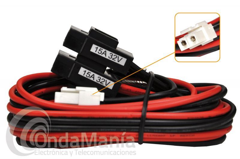 RK-06-8 - T9026115 CABLE DE ALIMENTACION PARA YAESU