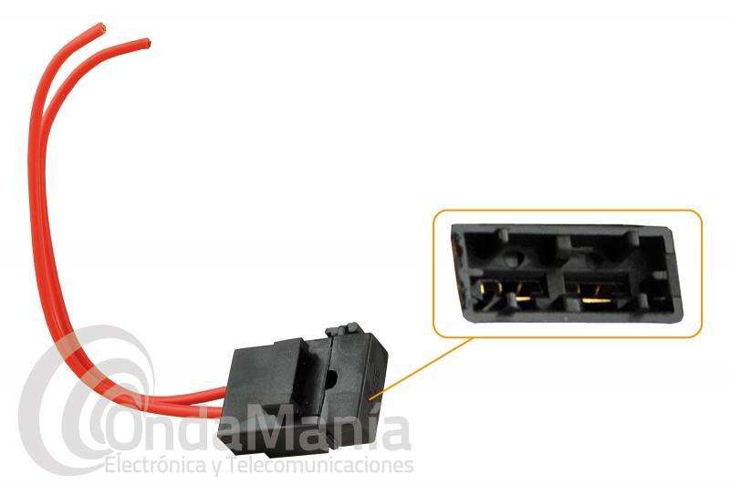 PORTA-FUSIBLE ESTANCO CON CABLE - Porta-fusible estanco con cable