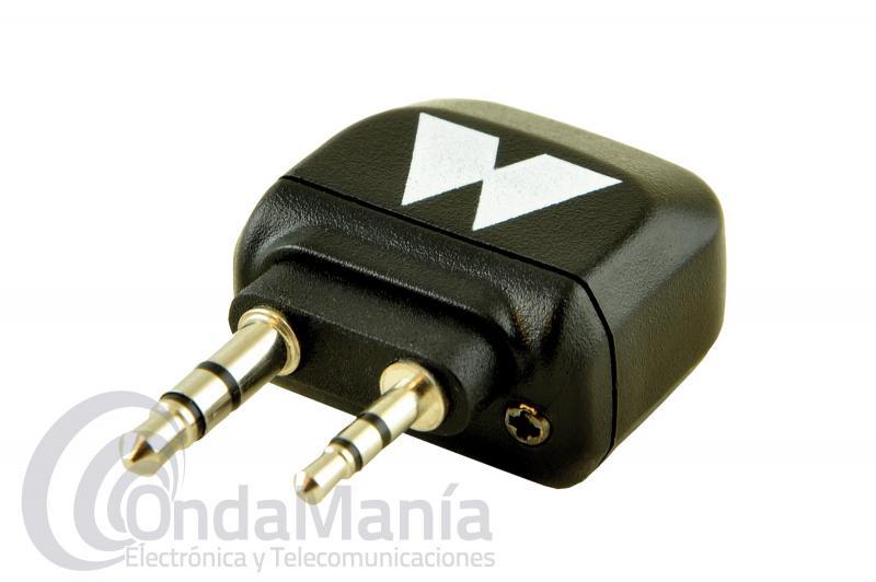 MIDLAND WA-CB ADAPTADOR BLUETOOTH PARA EMISORAS CB 2 PIN MIDLAND - El Midland WA-DONGLE es un adaptador Bluetooth de tamaño extremadamente reducido. Funciona exactamente igual que WA-DONGLE, pero está diseñado para conectarse a las emisoras CB pequeñas donde no se podía conectar el WA-DONGLE.