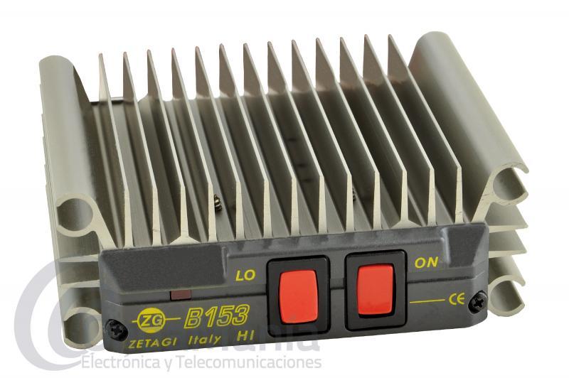 ZETAGI B-153 AMPLIFICADOR LINEAL DE 26 A 30 MHZ CON 100 W