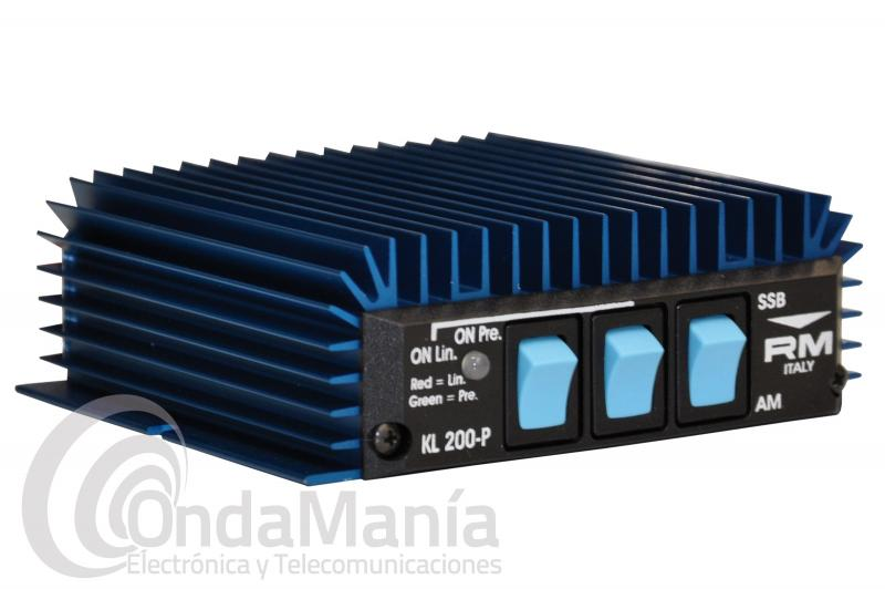 AMPLIFICADOR LINEAL CON PREVIO DE BANDA CIUDADANA CB-27 RM KL-200-P