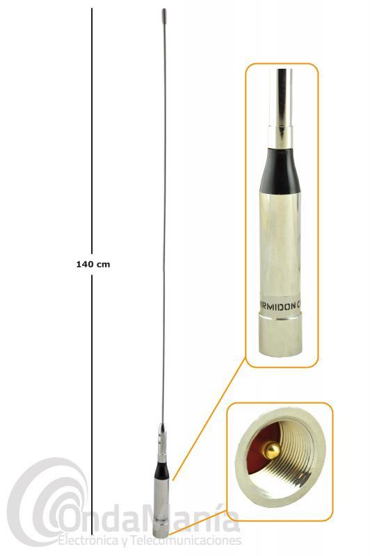 ANTENA VERTICAL PARA MOVIL DE VHF MIRMIDON CHARLIE-140 VHF