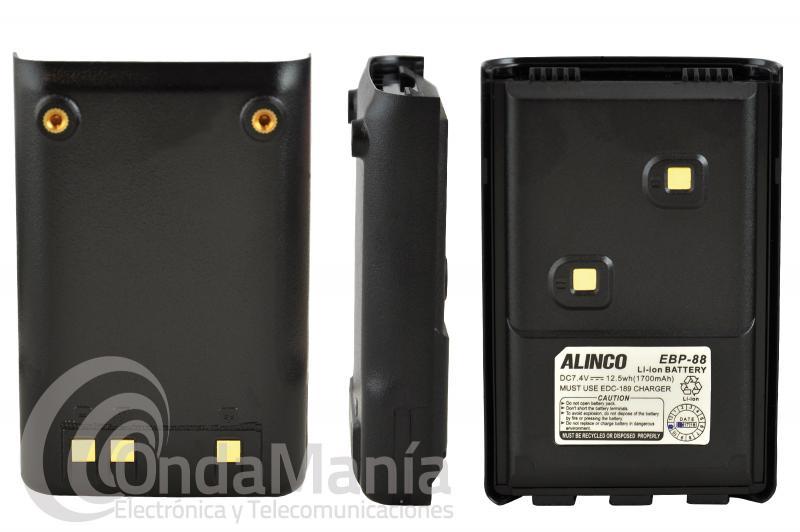 BATERIA ALINCO EBP-88 COMPATIBLE CON LOS ALINCO DJ-MD5, DJ-A10, DJ-A40, DJ-100, DJ-500,...