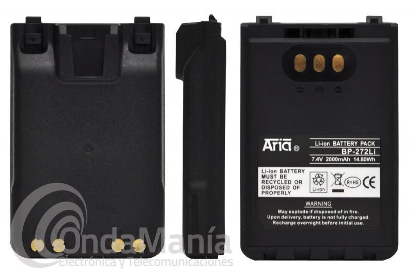 BATERIA ARIA BP-272LI COMPATIBLE CON LOS ICOM IC-705, ID-31, ID-51, IC-31, IP-100H,...