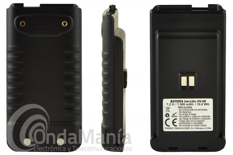 BATERIA DE REPUESTO PARA EL KOMBIX UV-5R - Batería de Ion-Litio con 7,2V y 1500 mAh de capacidad compatible con el Kombix UV-5R
