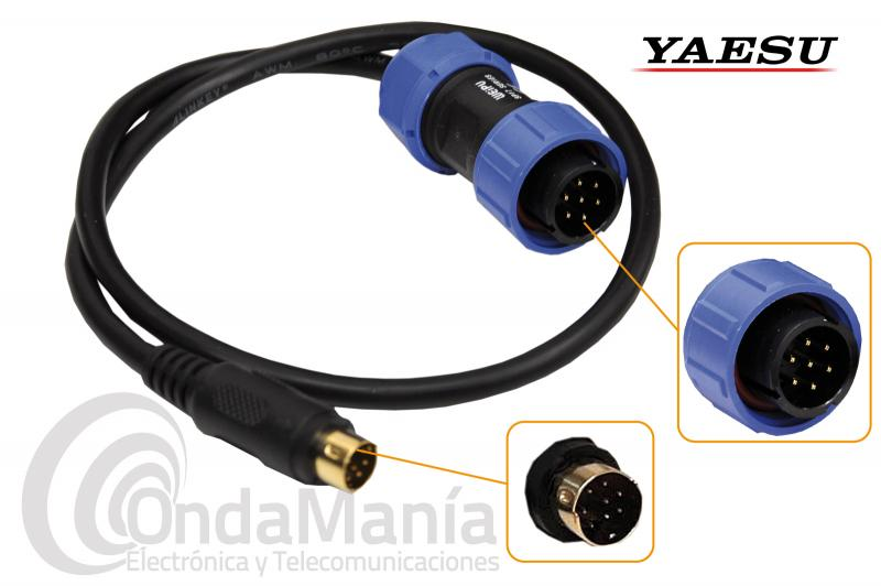 CABLE PARA EQUIPOS YAESU COMPATIBLE CON EL MAT-40