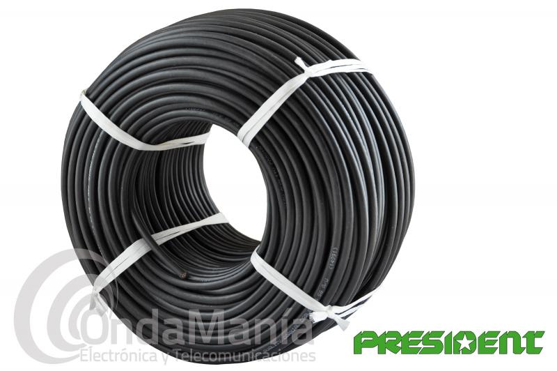 CABLE COAXIAL RG-58 PRESIDENT CA-100P